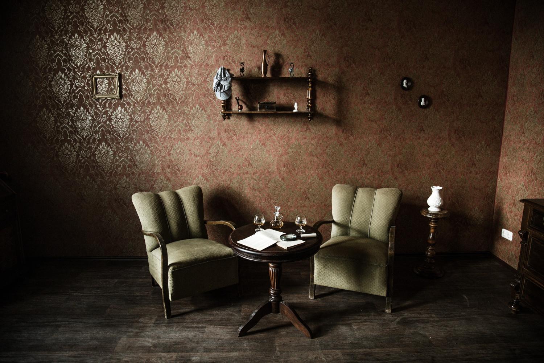 Sherlocks Wohnzimmer